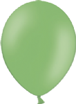 "10"" Pastel/Standard Bright Green Latex Balloon"
